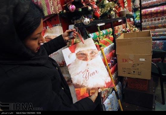 233505 500 حال و هوای جشن کریسمس 2014 در ایران / عکس