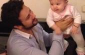 عکس جدید شاهرخ استخری و دختر تازه متولد شدش