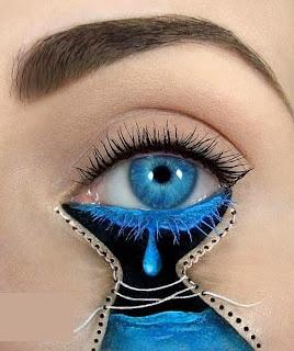 635232557938266446Wonderful makeup fashion 001 عکسهایی جالب از آرایش چشم هنری