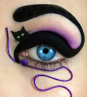 635232557938578446Wonderful makeup fashion 002 عکسهایی جالب از آرایش چشم هنری