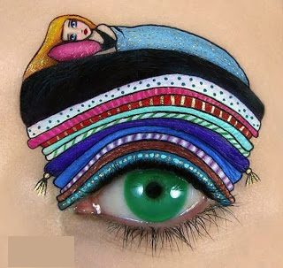 635232557938890447Wonderful makeup fashion 003 عکسهایی جالب از آرایش چشم هنری