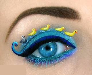635232557939046447Wonderful makeup fashion 0014 عکسهایی جالب از آرایش چشم هنری