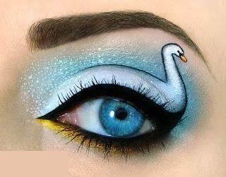 آرایش های چشم فوق العاده جالب به سبک جدید!