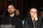 گریه لیلا حاتمی در مراسم یادبود ژیلا مهرجویی / عکس
