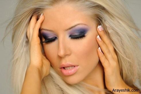 Eye Makeup 1 راز های ماندگاری بیشتر آرایش