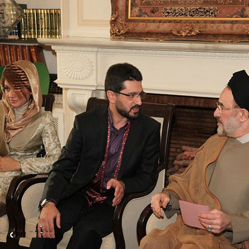 amir hossein modares aghad2 عکس های مراسم عقد امیرحسین مدرس با حضور سید محمد خاتمی