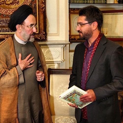 amir hossein modares aghad3 عکس های مراسم عقد امیرحسین مدرس با حضور سید محمد خاتمی