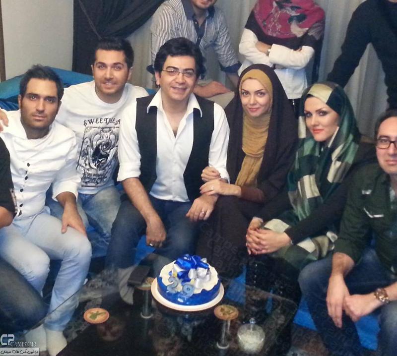 azadeh namdari farzad hasani عکس دیدنی تولد آزاده نامداری