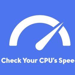 تشخیص سرعت CPU
