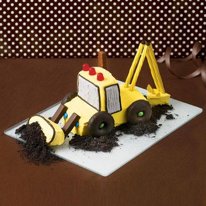 edible excavator spring recipe photo 420 FF0408CAKEA506 کیک های تولد مخصوص پسر بچه ها
