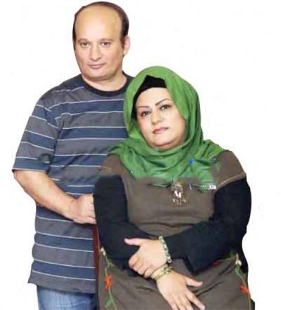 ghelgheli « قلقلی» در کنار همسرش! / عکس