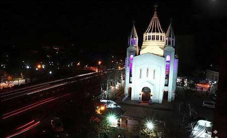 ir2436 10 کلیساهای سراسر ایران را بهتر بشناسید / عکس