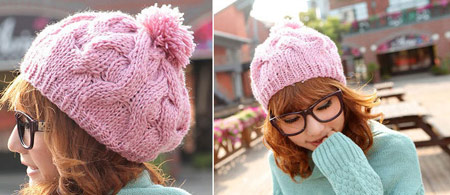 mo11273 مدل کلاه بافتنی 2014