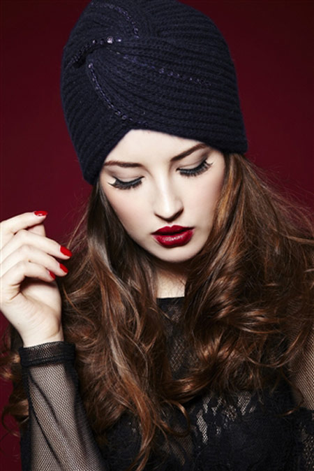 mo11278 مدل کلاه بافتنی 2014