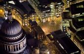 تصاویر هوایی فوق العاده زیبا از لندن در شب