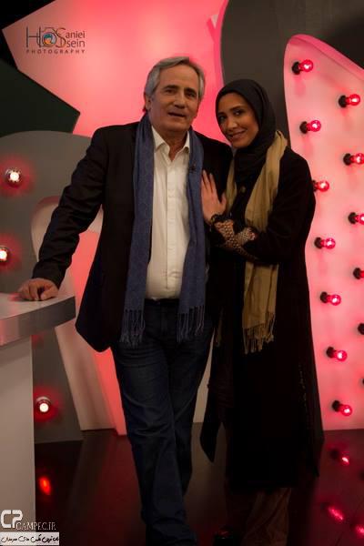 www Campec Ir Majid v Niki Mozafari 1 عکس های مجید مظفری و دخترش نیکی در برنامه امروز هنوز تموم نشده