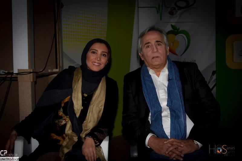 www Campec Ir Majid v Niki Mozafari 4 عکس های مجید مظفری و دخترش نیکی در برنامه امروز هنوز تموم نشده