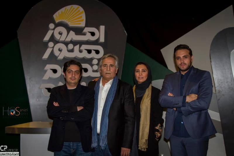 www Campec Ir Majid v Niki Mozafari 5 عکس های مجید مظفری و دخترش نیکی در برنامه امروز هنوز تموم نشده