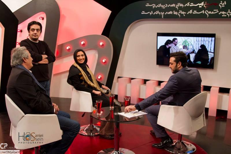 www Campec Ir Majid v Niki Mozafari 8 عکس های مجید مظفری و دخترش نیکی در برنامه امروز هنوز تموم نشده