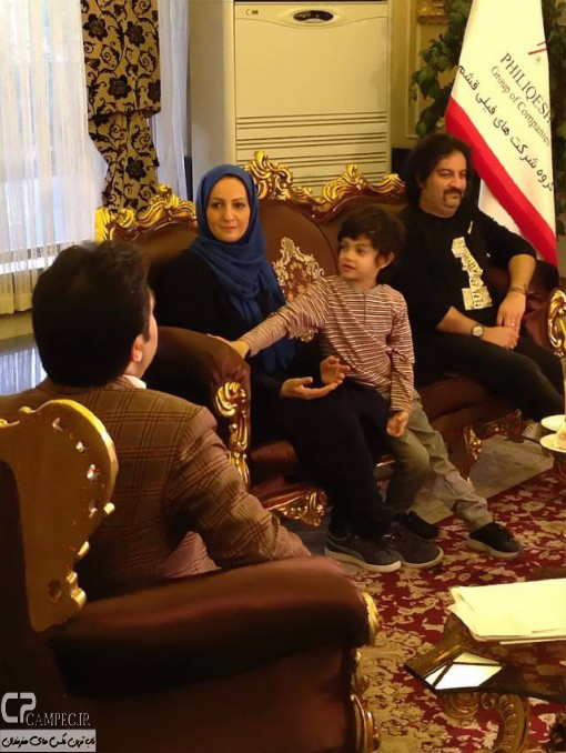 www Campec Ir Shaghayegh Dehghan 22 عکس های جدید شقایق دهقان به همراه همسر و فرزندش