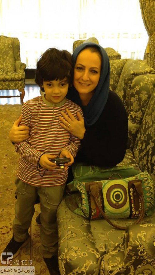 www Campec Ir Shaghayegh Dehghan 24 عکس های جدید شقایق دهقان به همراه همسر و فرزندش