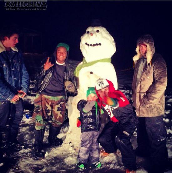 zxmoeuer8ssyjjzfhlml عکسهای کریسمسی امسال ستارگان هالیوود