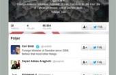 » اظهار تعجب مقام سوئدی از رصد خود توسط ظریف در توئیتر