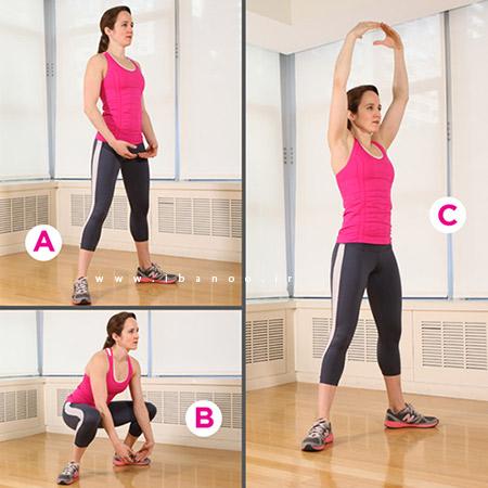 6 move 1 6 تمرینی که شما را باریک و قوی می کند!