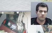 اتومبیلی وارد یک خانه شد و صاحبخانه را کشت