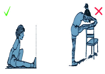 Stretching the leg elmevarzesh حرکات ورزشی مضر و ممنوع