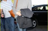 عکس های جدید اما استون در فرودگاه لس آنجلس