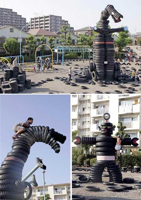 ir2449 2 شگفت انگیزترین پارک های بازی کودکان / تصاویر