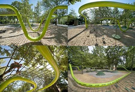 ir2449 4 شگفت انگیزترین پارک های بازی کودکان / تصاویر