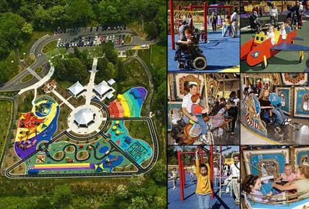 ir2449 5 شگفت انگیزترین پارک های بازی کودکان / تصاویر