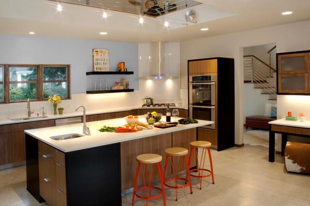 kitchen decoration 24 نمونه های بی نظیر دکوراسیون آشپرخانه مدرن
