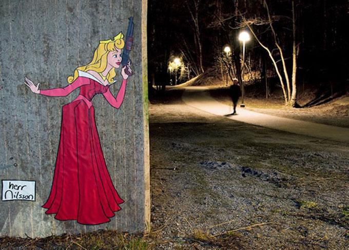 street art sa 10 نقاشی های بسیار زیبای خیابانی