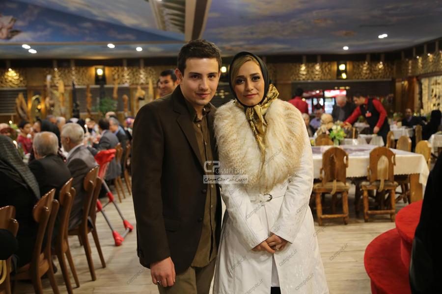 www Campec Ir Amir Kazemi v Mahtab MOhseni 1 عکس های سالگرد ازدواج امیر کاظمی و همسرش