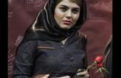 عکس بدون گریم آزاده زارعی بازیگر نقش باران