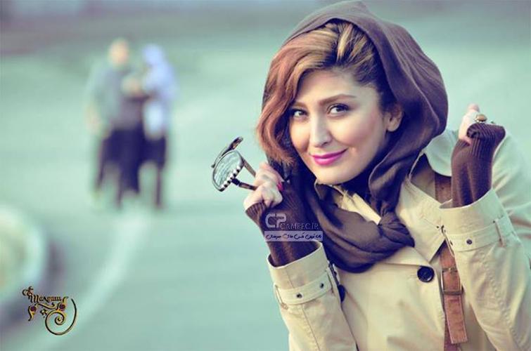 عکس باران خواننده زن ایرانی