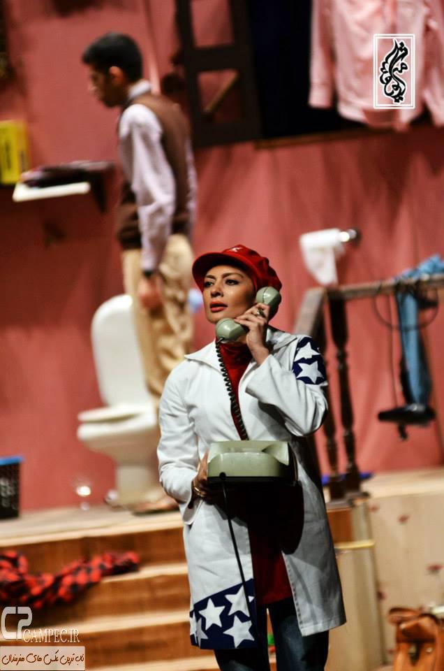 www Campec Ir Yekta Naser 22 عکس های یکتا ناصر در نمایش دختر بانکی