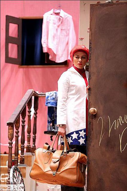 www Campec Ir Yekta Naser 25 عکس های یکتا ناصر در نمایش دختر بانکی