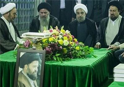 حضور دکتر روحانی در مرقد امام (ره) / عکس, جدید 1400 -گهر
