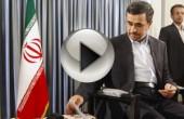 احمدی نژاد چطور به مجری تلویزیون خط میداد؟ + ویدئو پشت صحنه