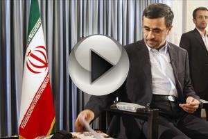 احمدی نژاد چطور به مجری تلویزیون خط میداد؟ + ویدئو پشت صحنه, جدید 1400 -گهر