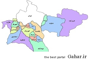 یک شهر به استان تهران اضافه شد, جدید 1400 -گهر