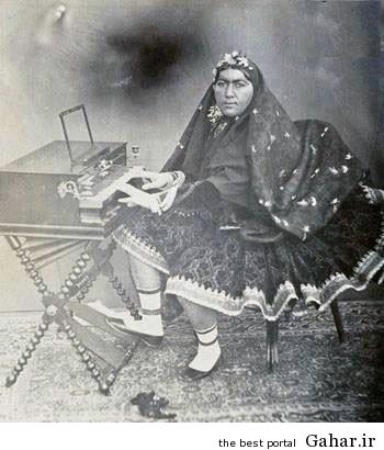 همسر ناصرالدینشاه پشت پیانو!, جدید 1400 -گهر