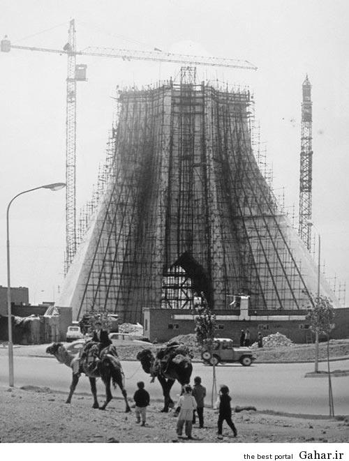 عکس: مراحل ساخت برج آزادی تهران, جدید 1400 -گهر