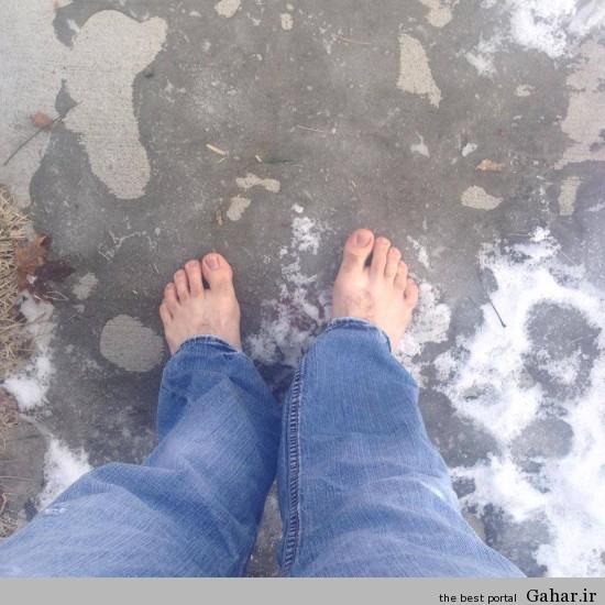 یکسال زندگی بدون کفش برای کمک به فقرا / عکس, جدید 1400 -گهر