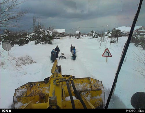تایید مرگ ۲ تن در برف شمال / عکس (۱۶+), جدید 1400 -گهر