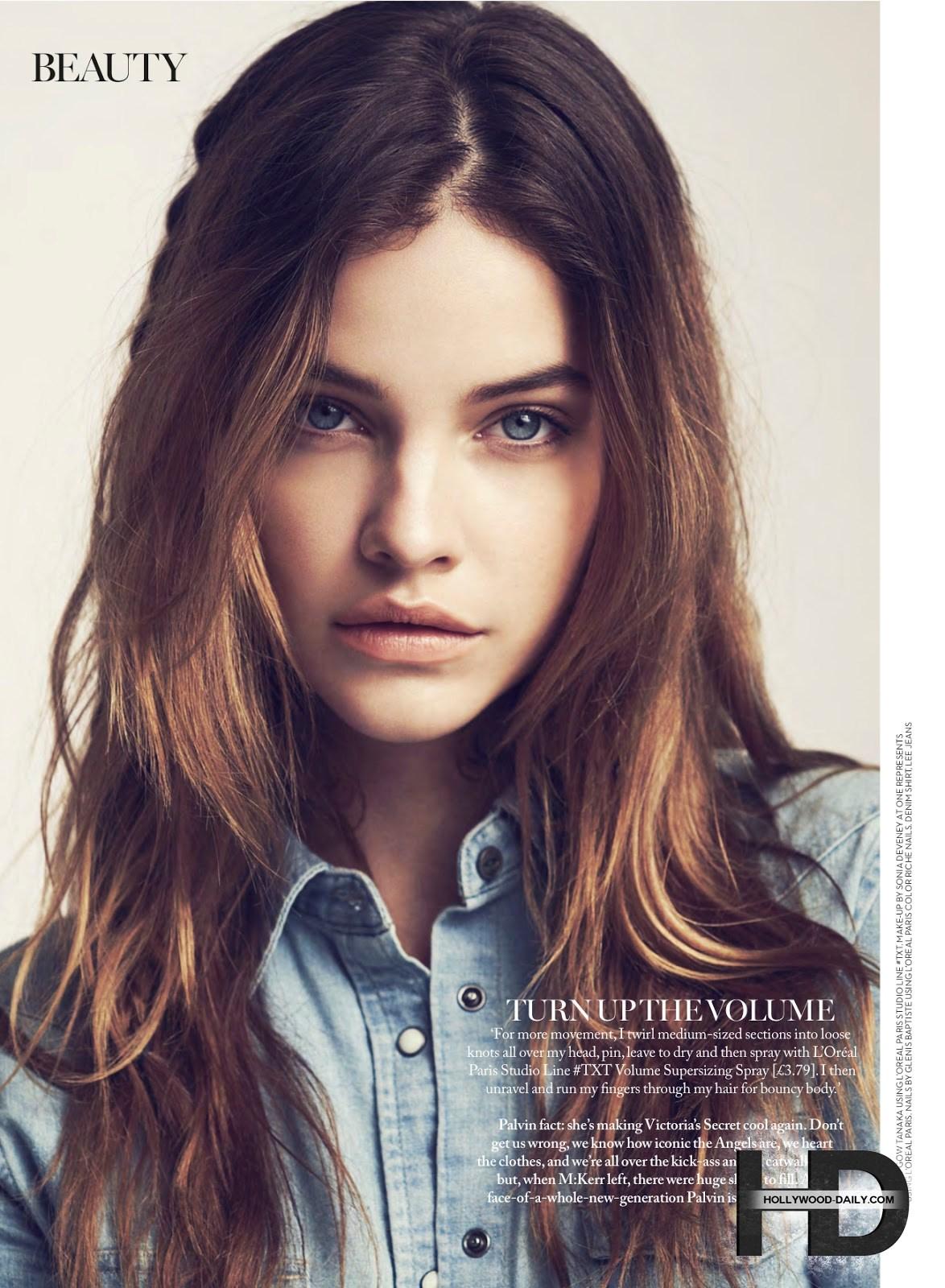 کاور و فتوشاتهای جدید باربارا پالوین برای مجله Marie Claire UK, جدید 1400 -گهر